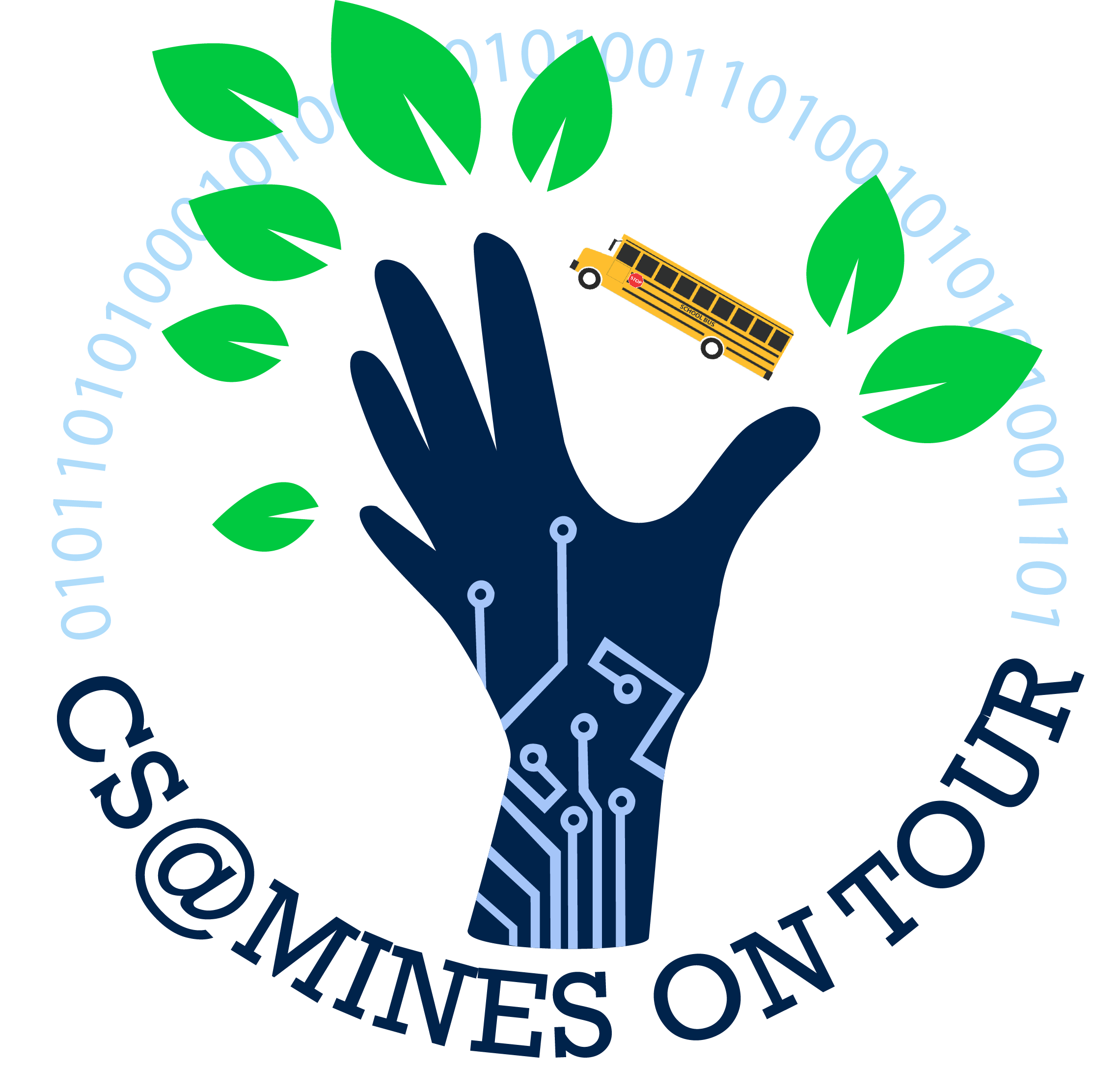 Picture of CS@Mines On Tour Logo